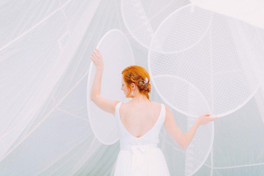 Das Brautkleid Lilou aus der Noni Federleicht Kollektion