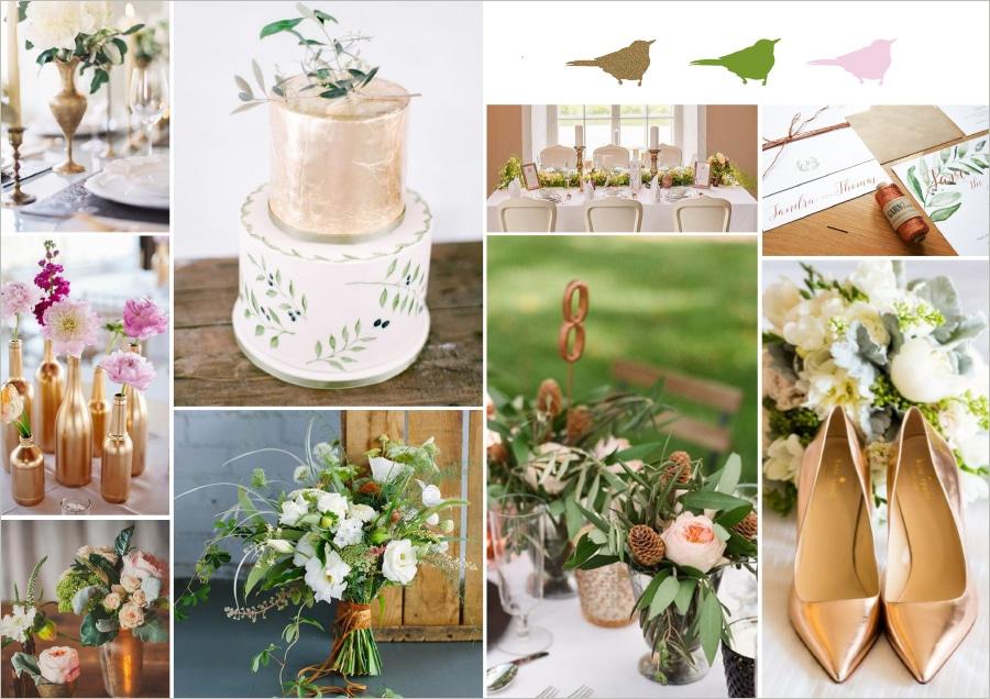 Moodboards: So findet ihr den Stil eurer Hochzeit