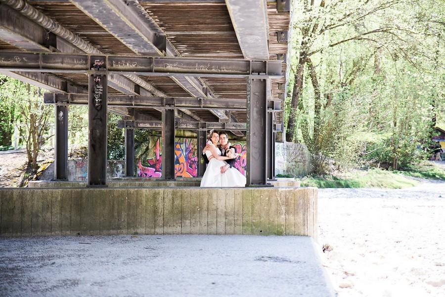 Hochzeit an der Isar in München - am Flaucher und in der Villa Floßlände