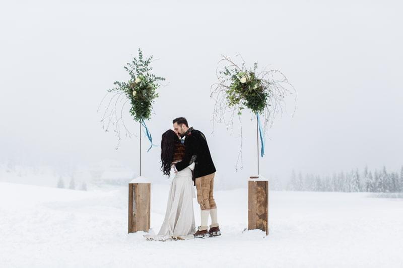 Ideen und Inspirationen für eine Winterhochzeit