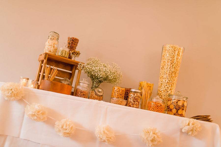 Salty Bar - eine salzige Bar als Alternative zum Sweet Table bei einer Hochzeit