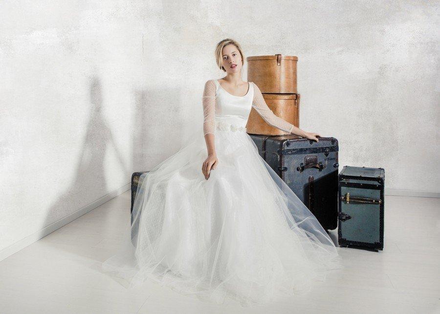 Das Brautkleid Bernadette von La Robe Marie