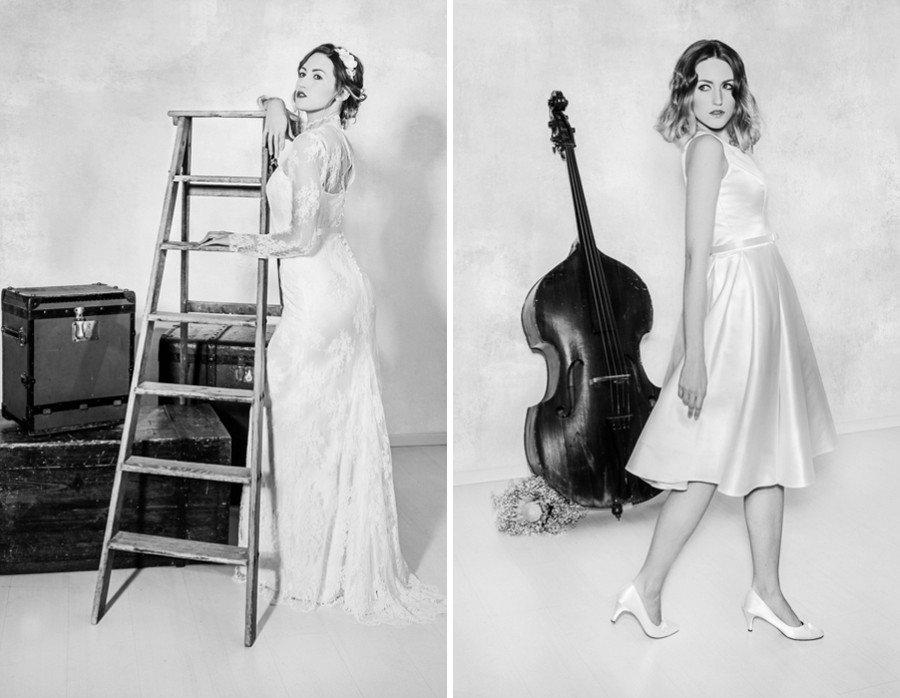 Die Brautkleider Celine und Cloe von La Robe Marie
