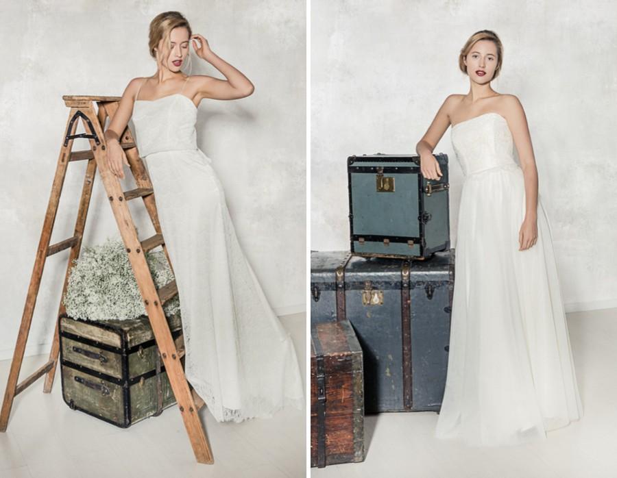 Die Brautkleider Maureen und Louise von La Robe Marie