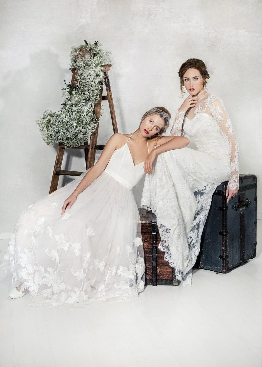 Die Brautkleider Eloise und Cloe von La Robe Marie