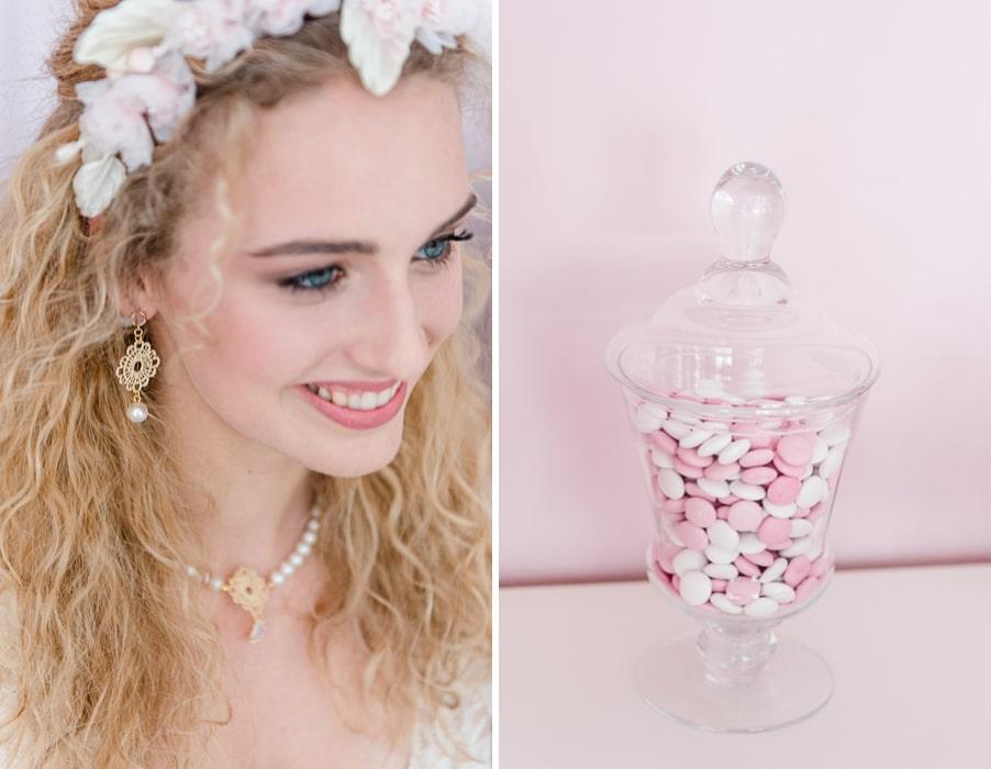 Ein Vintage-inspirierter Junggesellinnen-Abschied - ein Bridal Shower - mit viel Rosa im Cafe Zuckerschnuten in München