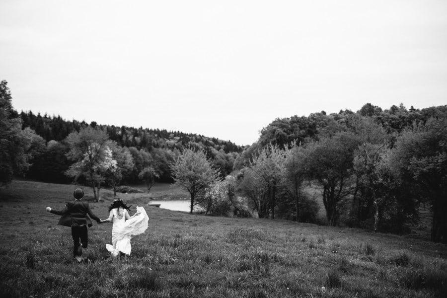 Brautpaar auf dem Gut Grafenried bei Regensburg