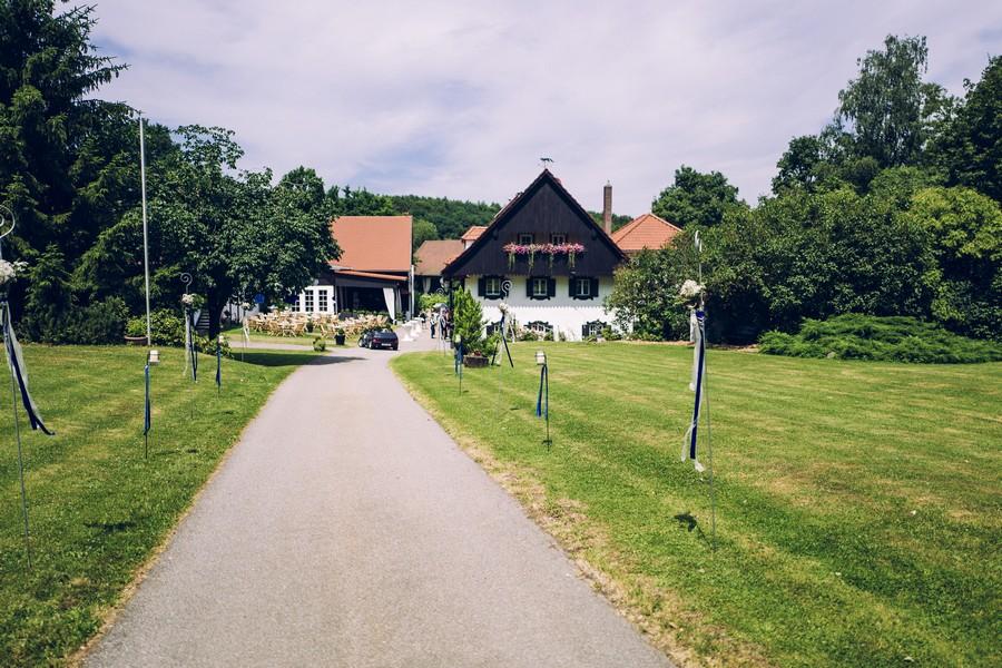 Das Gut Grafenried in Sinzing bei Regensburg als Location für Hochzeiten und das Hochzeitsfestival Du und Ich