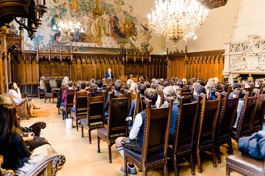 Trauung im kleinen Sitzungssaal im Neuen Rathaus München
