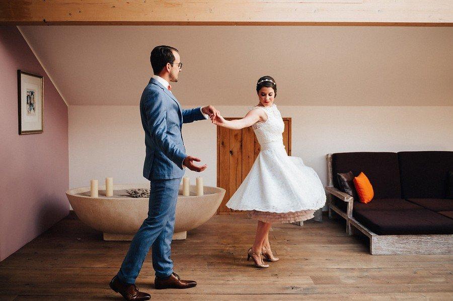 Hochzeit ohne Trauung – Party am Chiemsee im Stil der Fünfziger Jahre