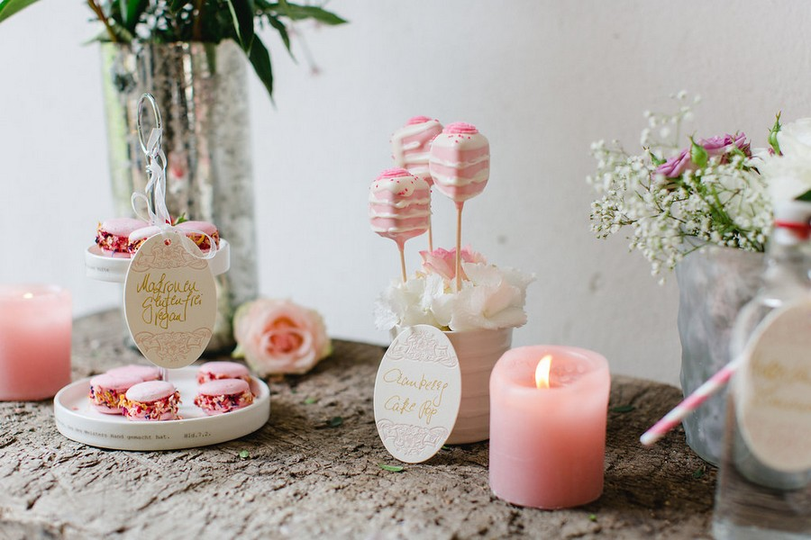 Zarte Tischdeko & ein fruchtiger sweet table: Zauberhafte Inspirationen aus Österreich, Teil 2