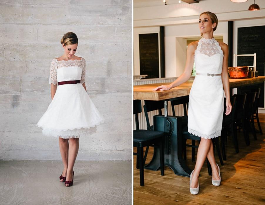 Brautkleider Katy und Tammy von Küssdiebraut