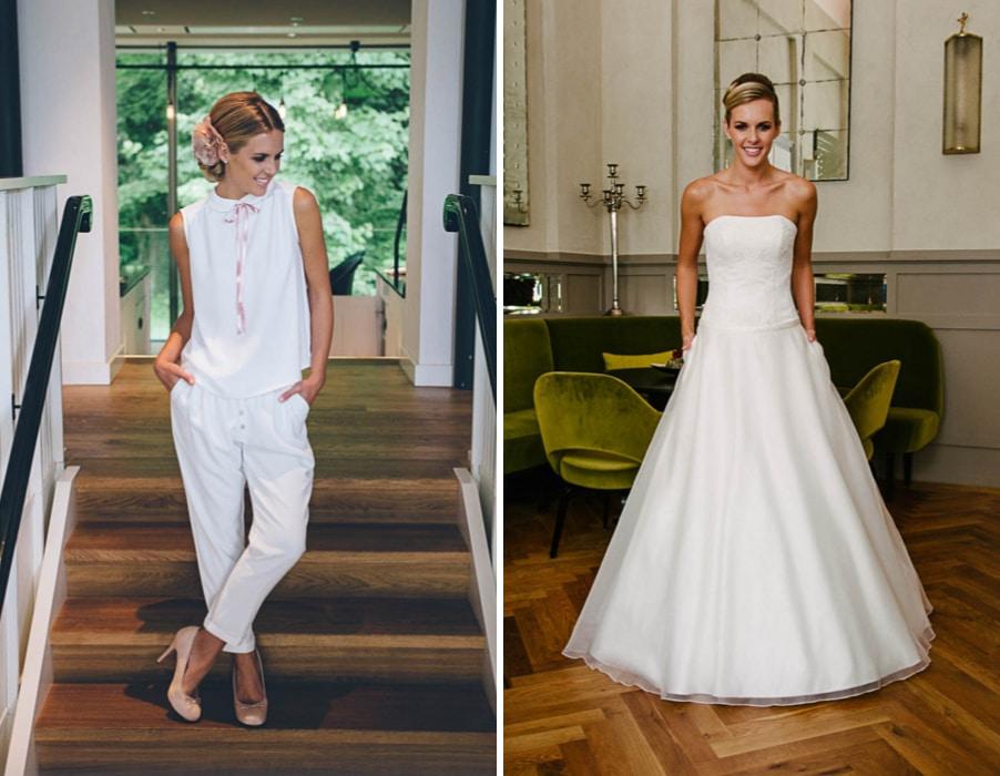 Brautkleider Mimi und Vivienne von Küssdiebraut
