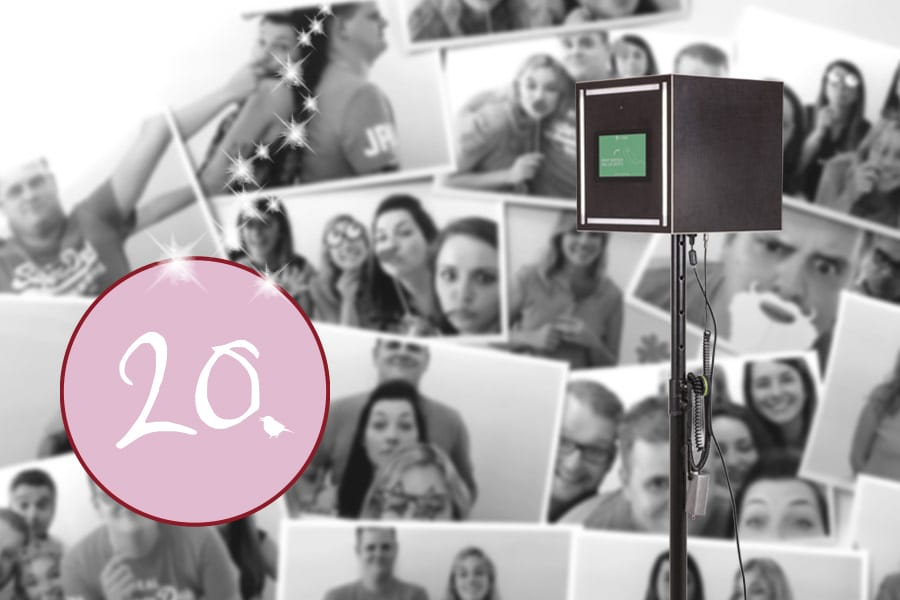Spiel, Spaß und coole Fotos: Gutschein für die KRUU Fotobox im Wert von 290 Euro