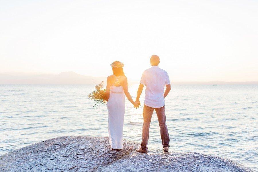 Ein märchenhaftes Verlobungsshooting im Sonnenaufgang – auf ein zauberhaftes 2017!