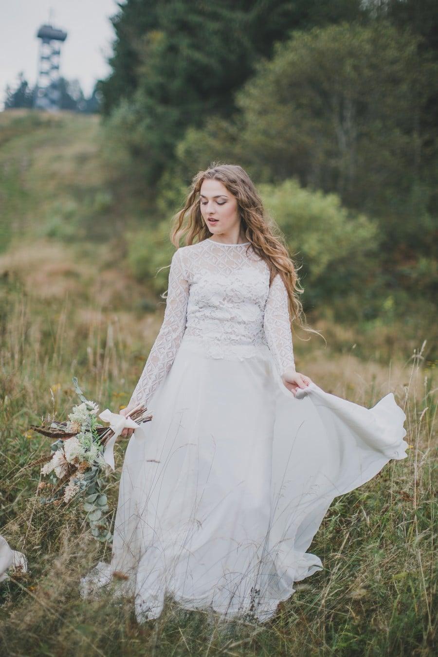 Hippie-Brautkleid von therese und luise