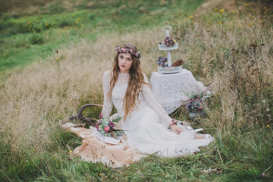 Inspirationen Fur Die Hippie Braut 3 Stylings Und Ein Tipi Zelt