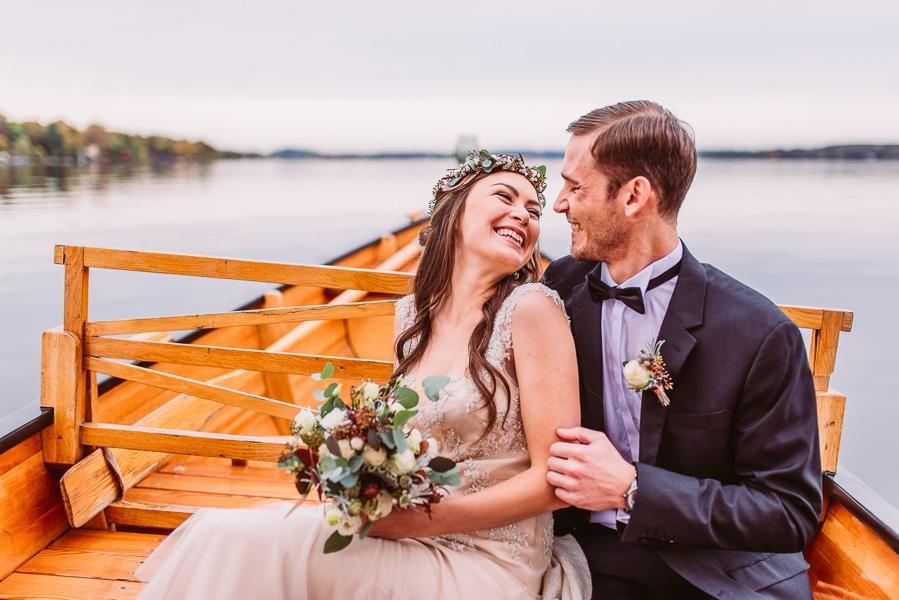 Boho trifft Kupfer – Hochzeitsinspiration am Starnberger See