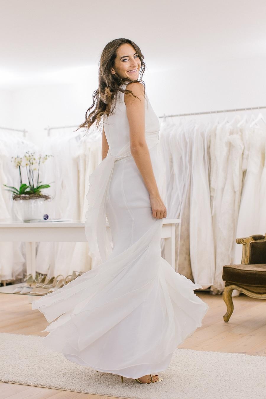 Tipps zum Brautkleidkauf - bewegen