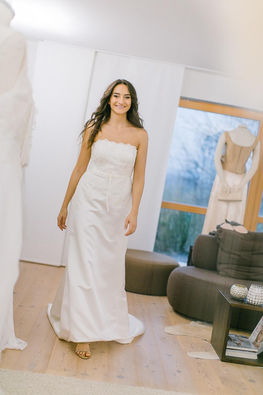Tipps zum Brautkleidkauf - laufen