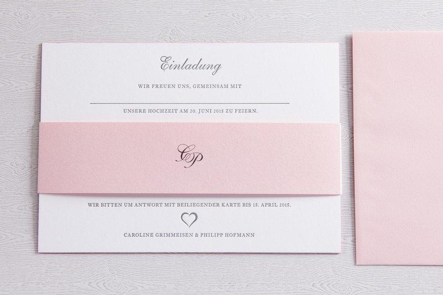 Hochzeitseinladungen und Papeterie für Hochzeiten aus Gmund