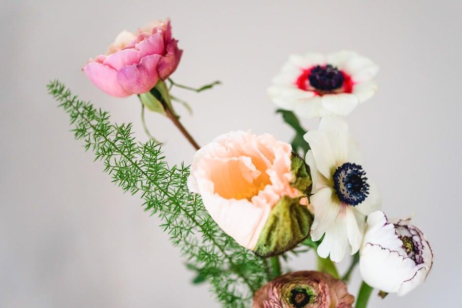 Individuelle Blumendekoration passend zum Konzept eurer Hochzeit in und um München