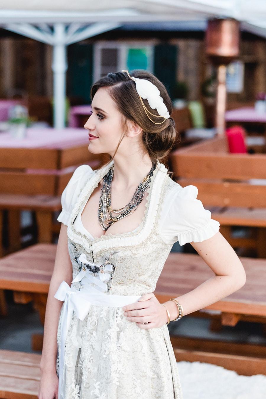 Braut-Haarschmuck passend zu Dirndl und Tracht