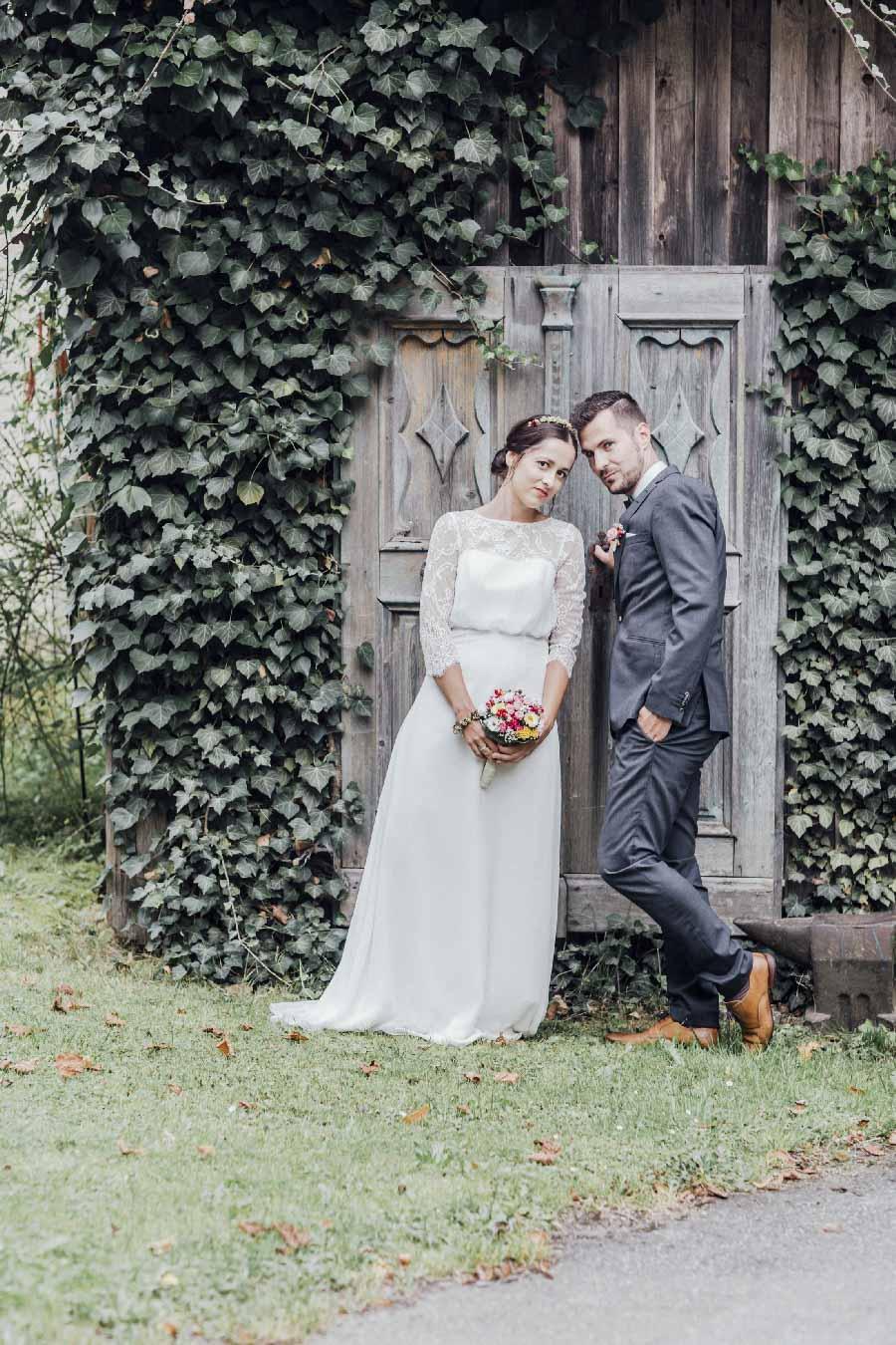 Lockere Hochzeit im Boho-Stil mitten in der Natur der Oberpfalz bei Cham