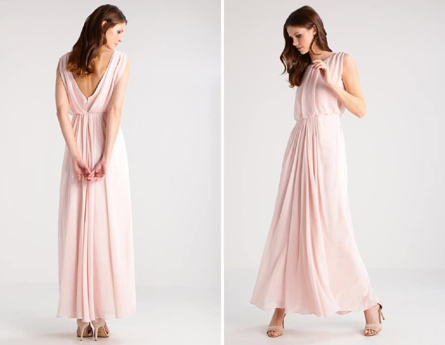 brautkleid-farbig-nude-rosa-zalando