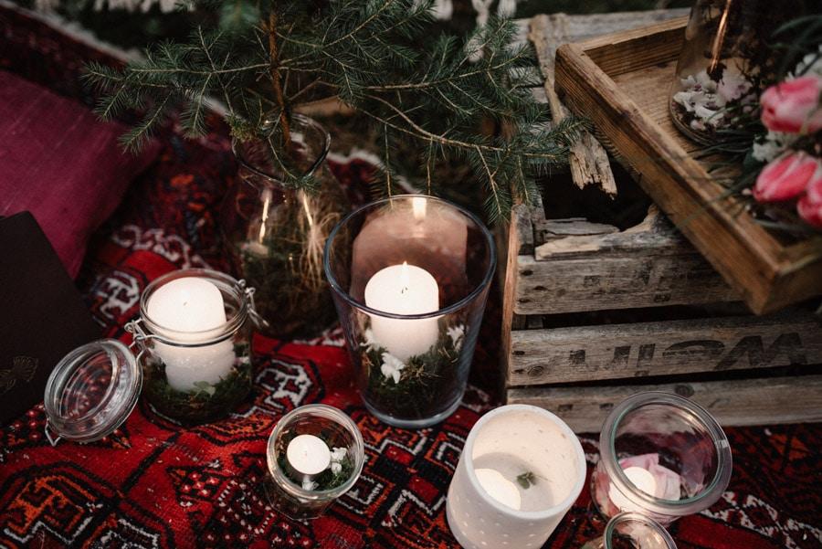 Elopement im Wald am Starnberger See: eine Hochzeit zu zweit