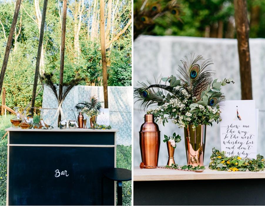 Sechs Ideen Zum Konzept Fur Eine Hochzeit Olive Kaktus Pfauen