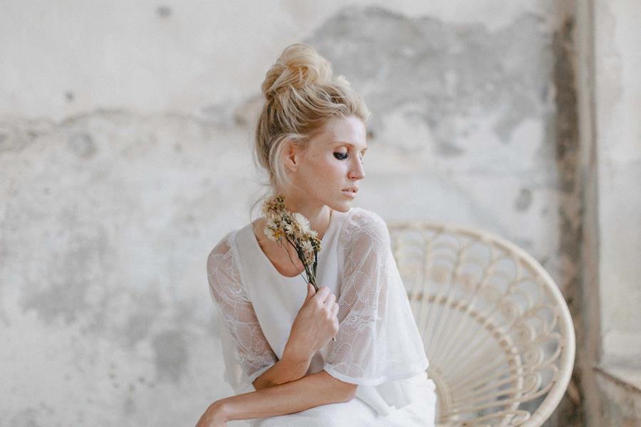 Für die Boho-Braut: Ideen zu Brautkleid, Styling und Accessoires