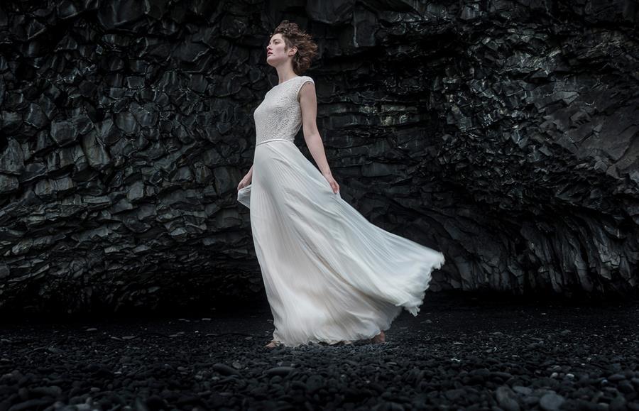 Iceland Inside - die Kollektion 2018 von therese&luise mit Brautkleidern voller Leichtigkeit