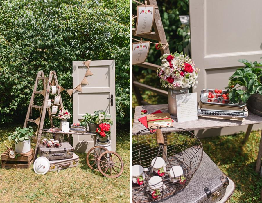 deko ideen f r eine erdbeer hochzeit hochzeitsgezwitscher. Black Bedroom Furniture Sets. Home Design Ideas
