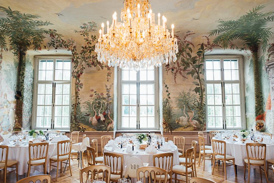 Internationale Hochzeit in Schloss Laudon bei Wien
