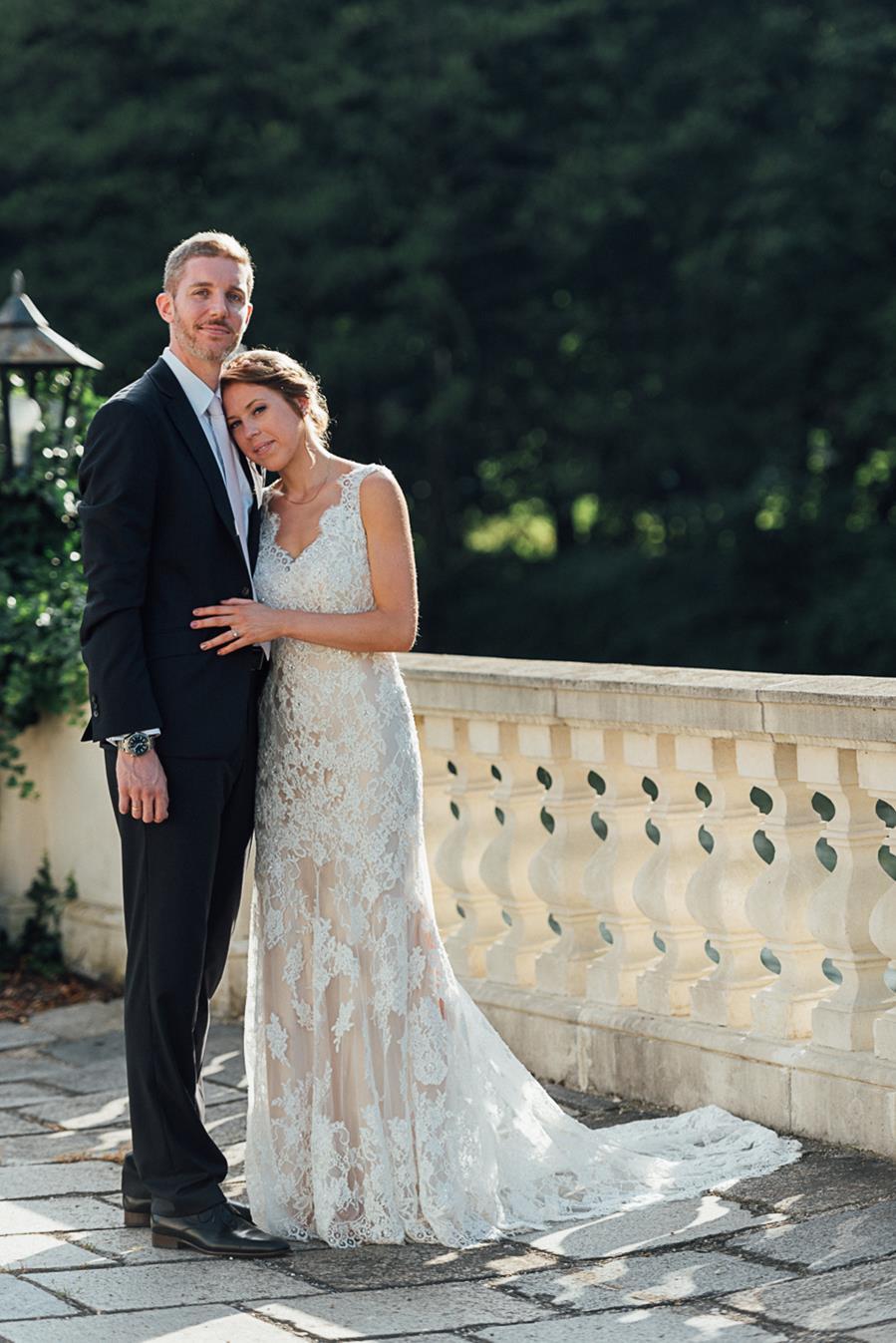 Hochzeit in Schloss Laudon in Wien mit Trauung im Garten und Feier im Festsaal