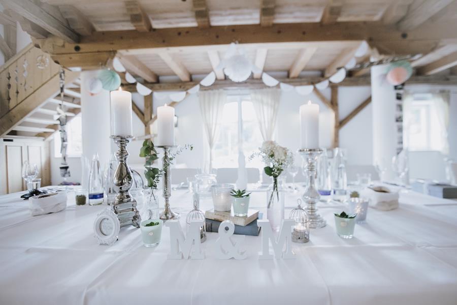 Ideen für die Deko bei einer Vintage-Hochzeit