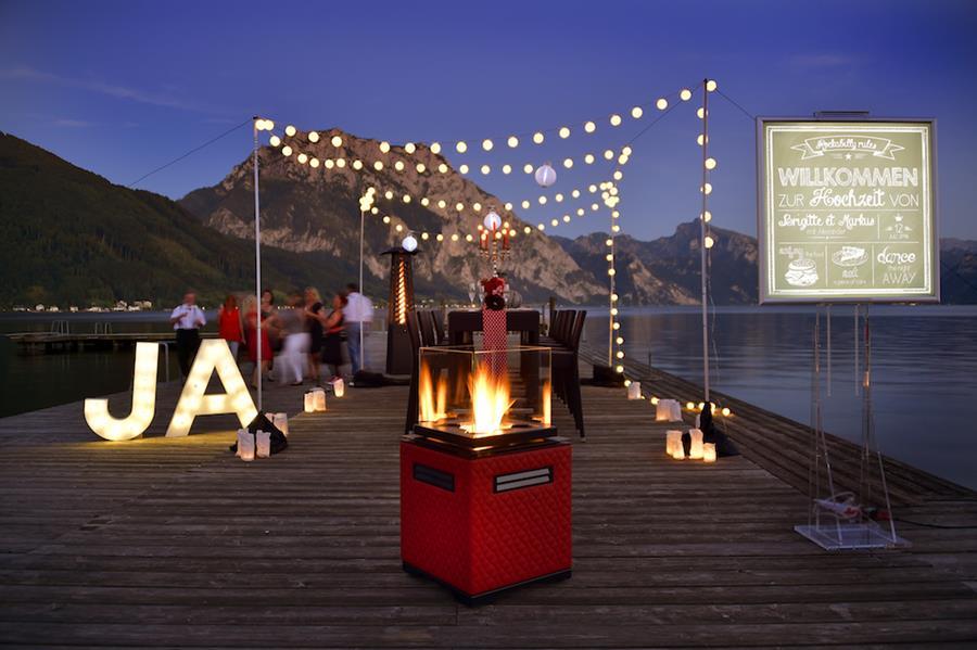 Rockabilly Hochzeits-Inspiration von Sag Ja im Salzkammergut