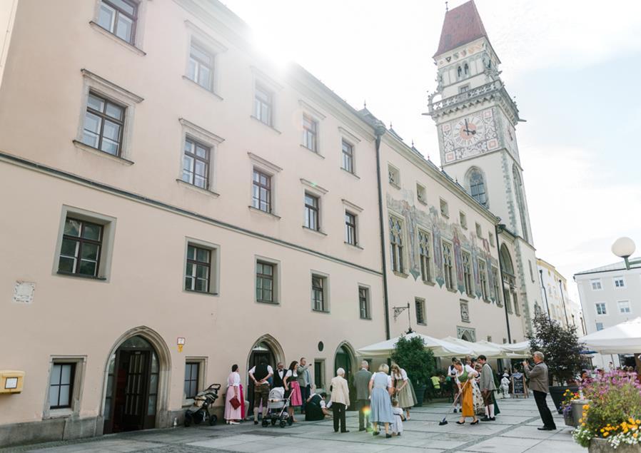 Standesamt im Kleinen Rathaussaal von Passau
