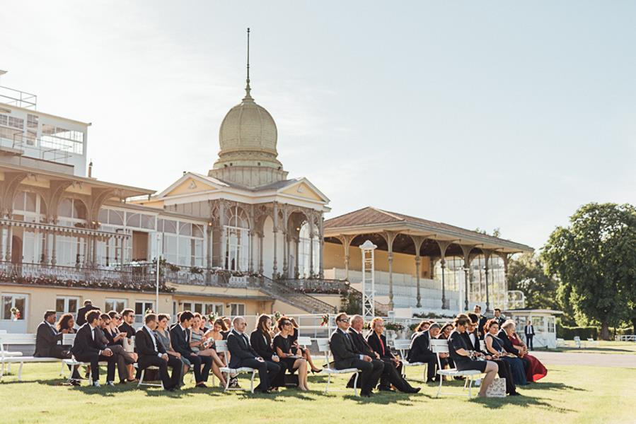 Romantische Hochzeit in der Kaiserloge Freudenau bei Wien