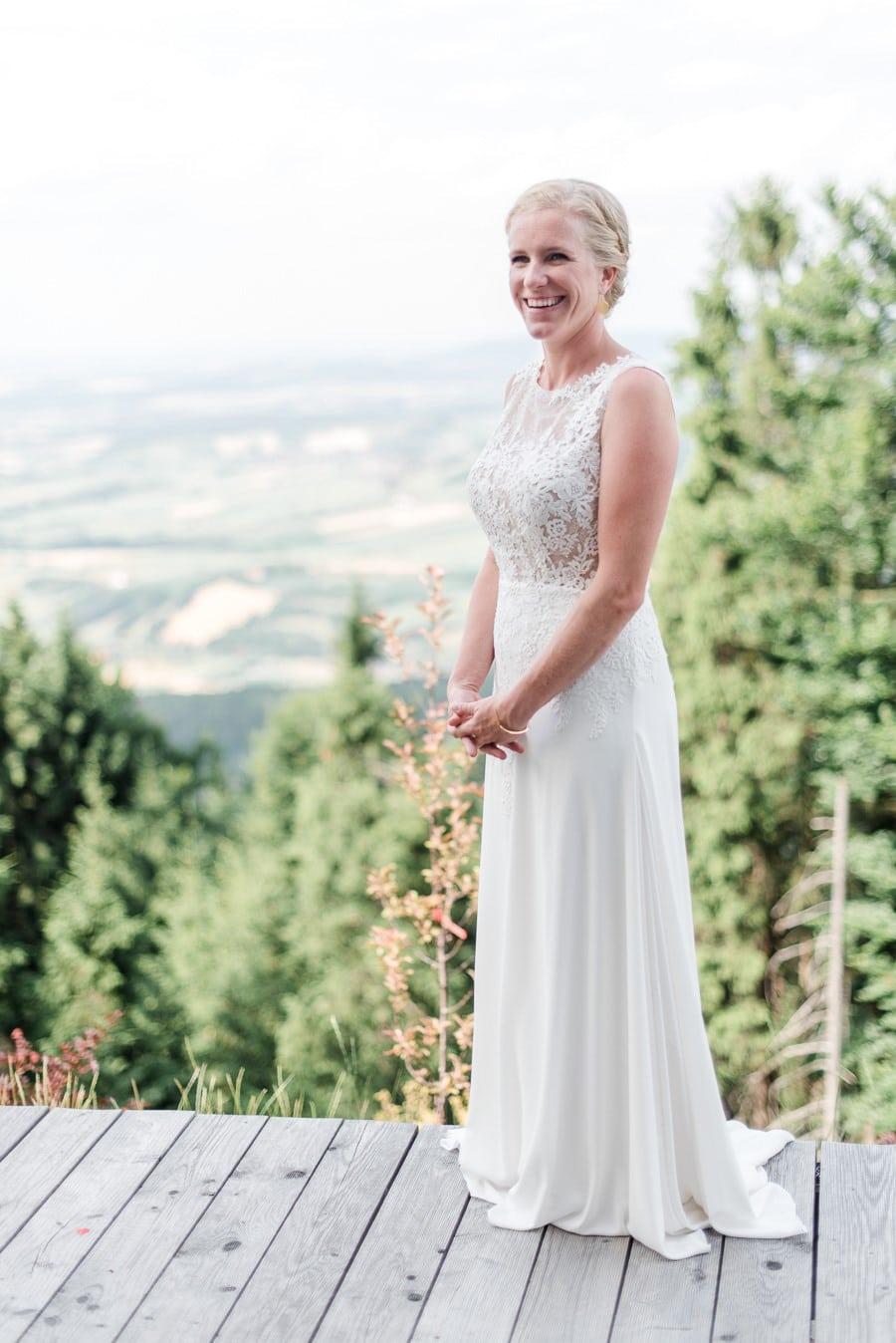 Atemberaubend Hochzeit Im Freien Mutter Des Brautkleides Galerie ...