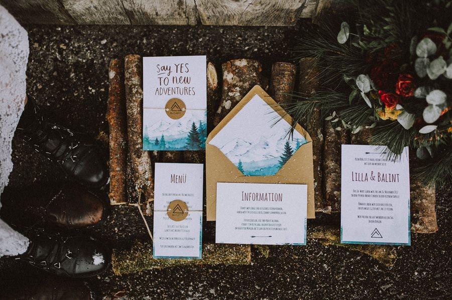 Wie die Papeterie den Stil eurer Hochzeit vorgibt