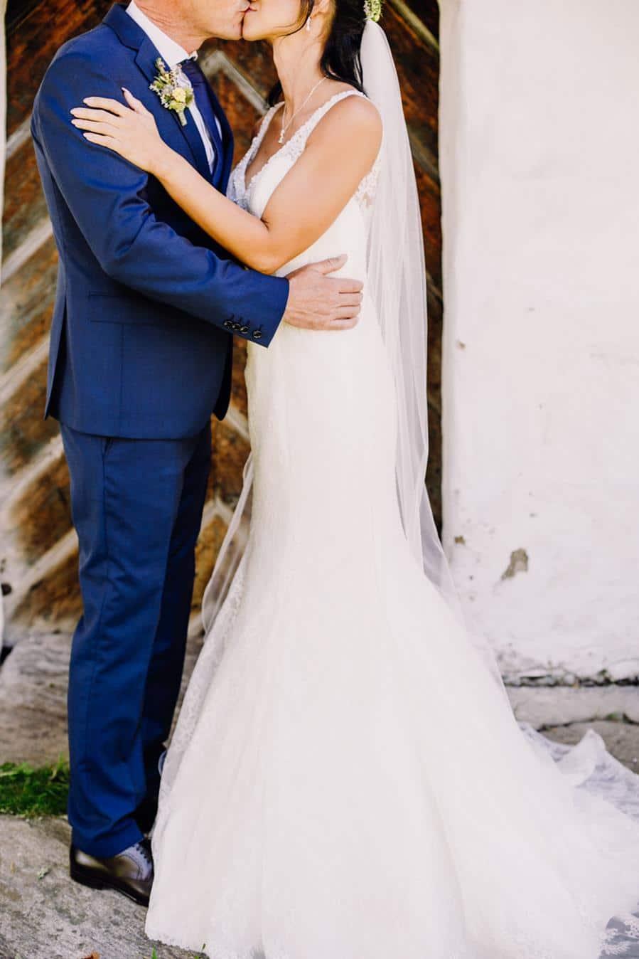 Inspiration für eine Hochzeit zu Zweit, ein Elopement