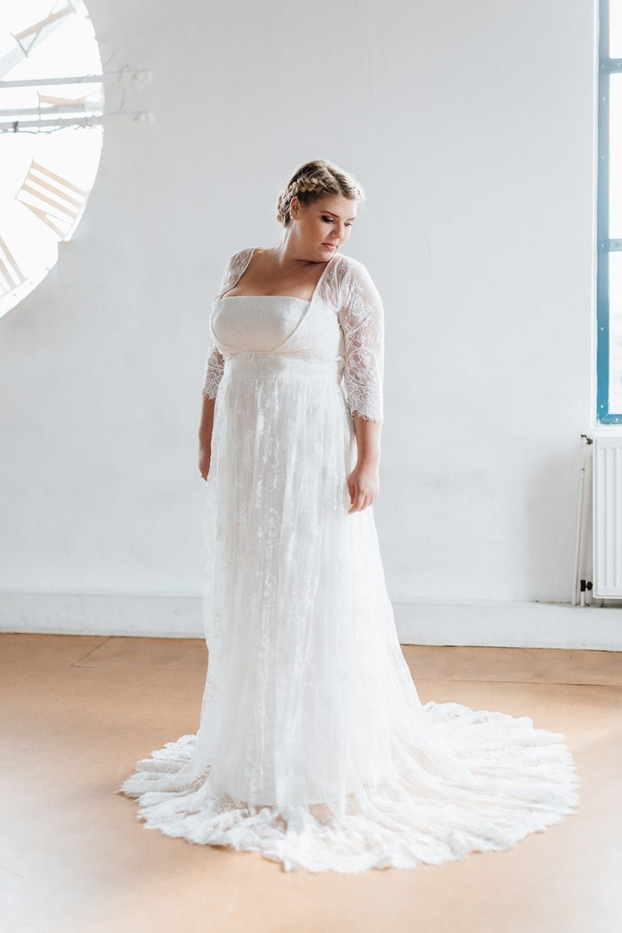Brautkleider in großen Größen - sexy in 11 bis 11