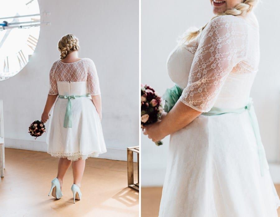 Brautkleid XXL aus der Kollektion Große Größen von küssdiebraut