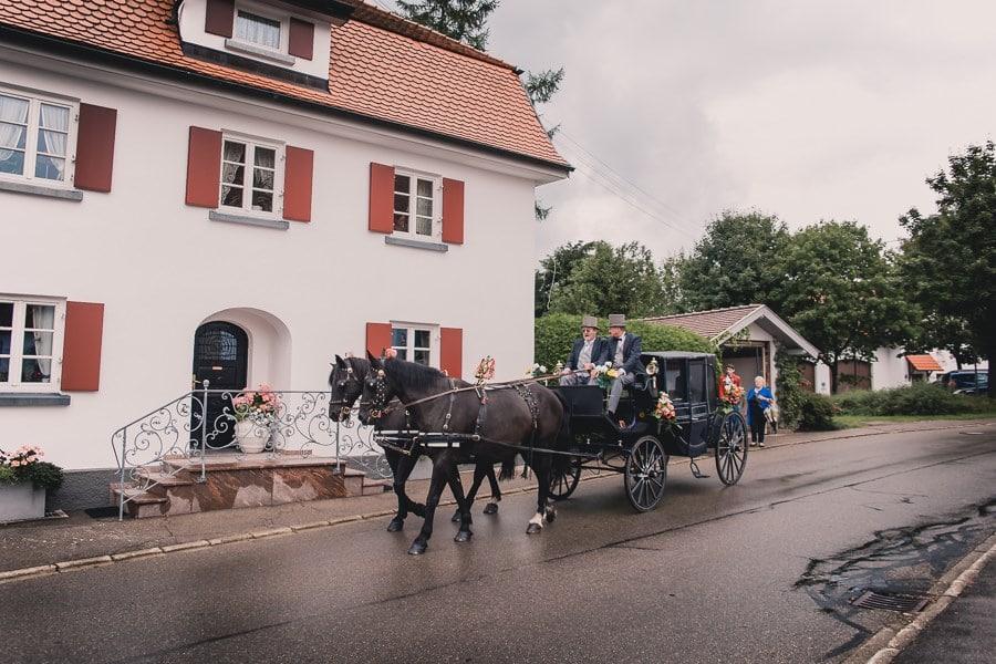 Klassische Hochzeit auf Schloss Kronburg im Allgäu