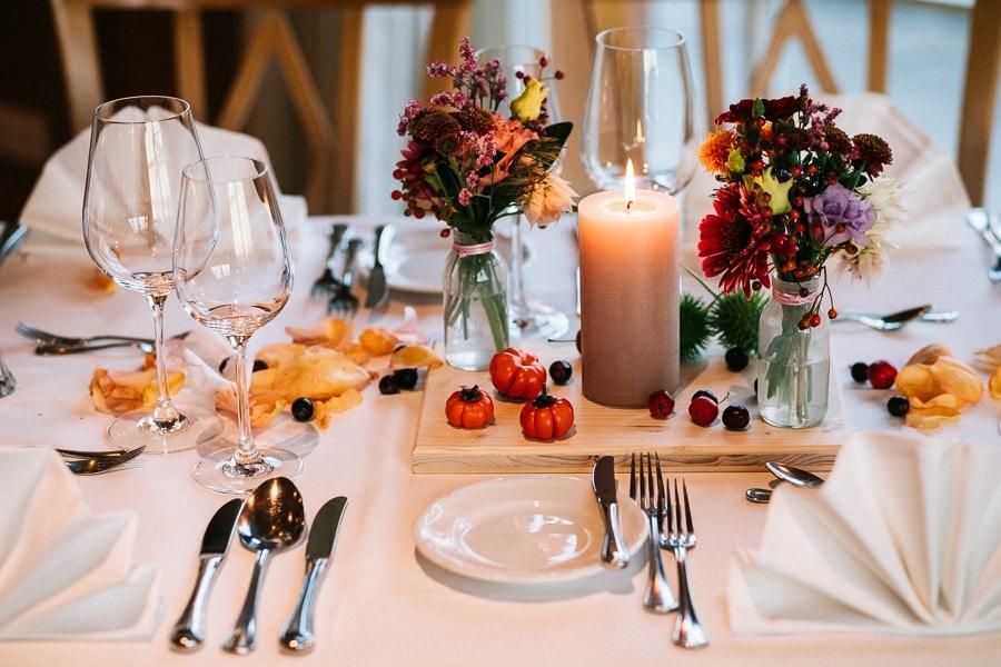 Ideen für eine herbstliche Hochzeit