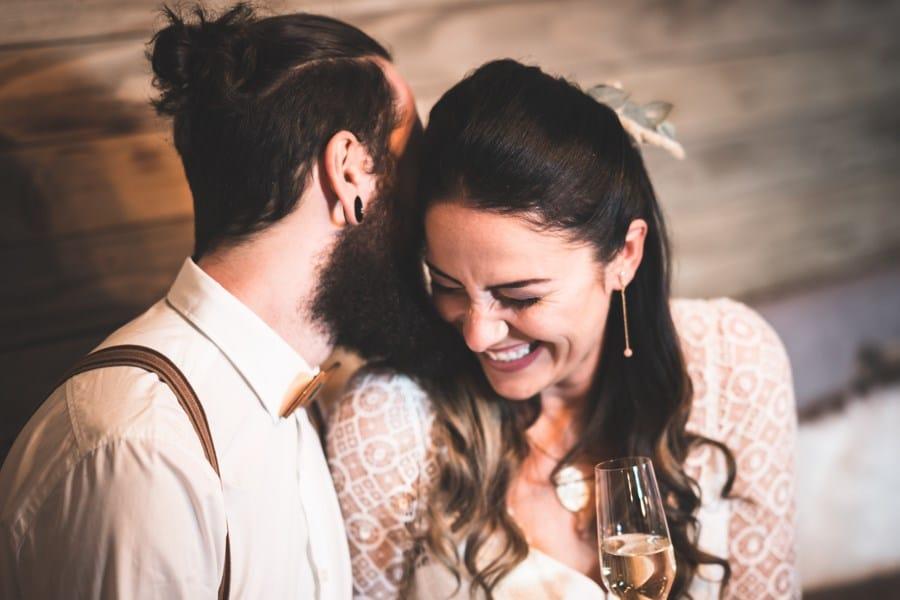 Ideen für eine romantische Chalet-Hochzeit mit Boho-Glamour