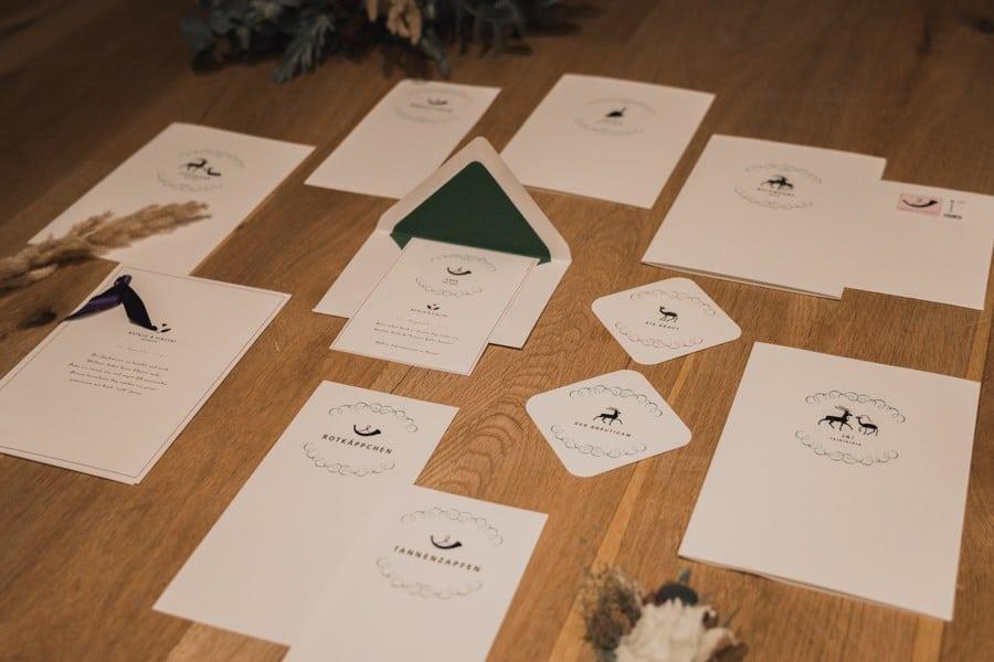 Idee für eine Chalet-Hochzeit mit Boho-Glamour