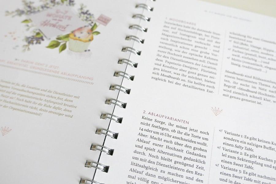"""Das Buch Unser Hochzeitsplaner """"Komm wir trauen uns"""""""